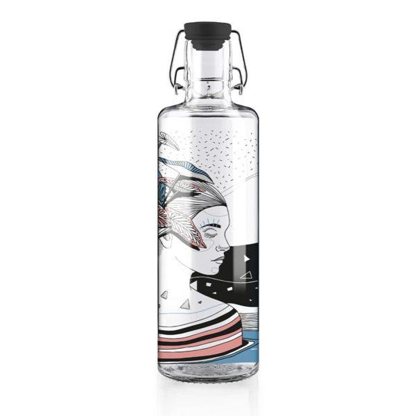Glastrinkflasche Spirit of Nature - 1,0 l