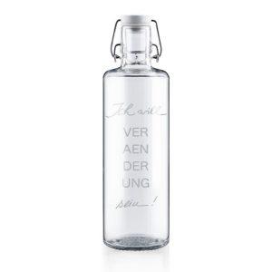 Glastrinkflasche Veränderung - 1,0 l