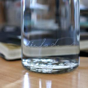 Einfach nur Wasser