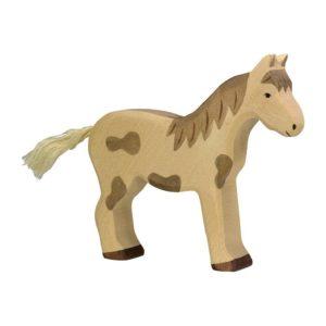 Pferd stehend – gefleckt