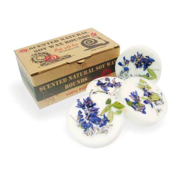 Duftscheiben aus Sojawachs Lavendel - 4er Set 1