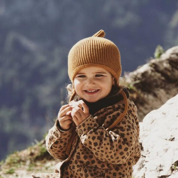 Kindermütze Pinni mustard - Größe S 4-24 Monate 3