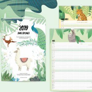 Familienkalender 2021 – DIN A3 4