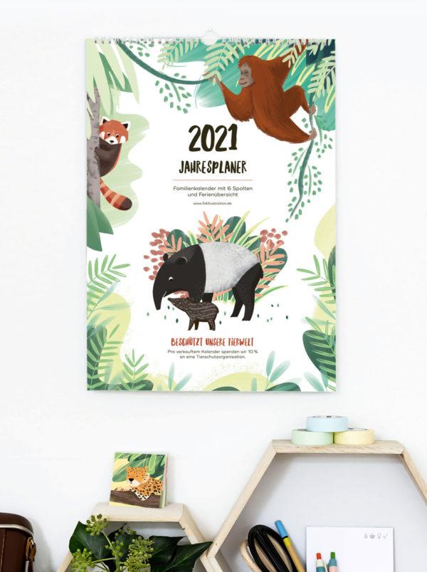Familienkalender 2021 – DIN A3 1