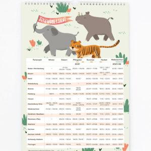 Familienkalender 2021 – DIN A3 15