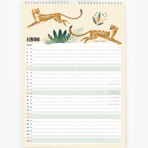 Familienkalender 2021 – DIN A3 14