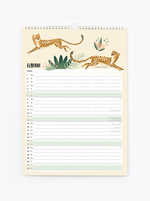 Familienkalender 2021 – DIN A3 7