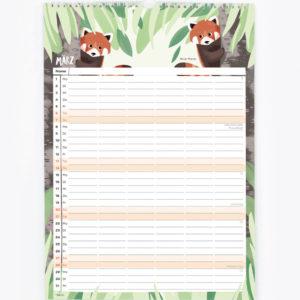 Familienkalender 2021 – DIN A3 13