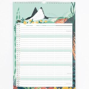 Familienkalender 2021 – DIN A3 9