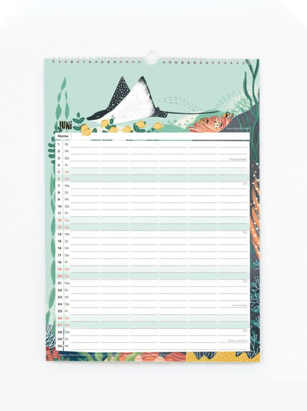 Familienkalender 2021 – DIN A3 2