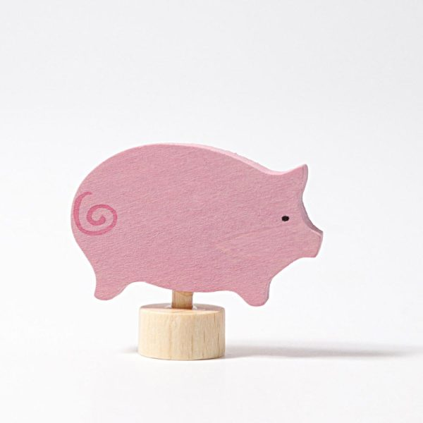 Steckfigur Schwein von Grimm's