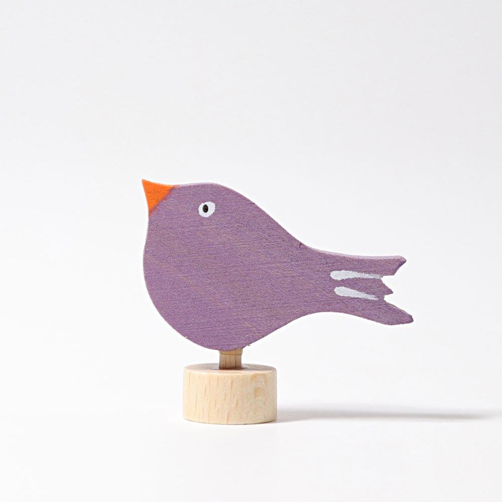 Steckfigur sitzender Vogel von Grimm's