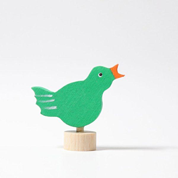 Steckfigur singender Vogel von Grimm's