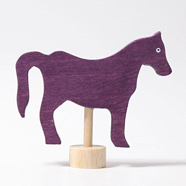 Steckfigur violettes Pferd von Grimm's