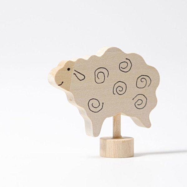 Steckfigur stehendes Schaf von Grimm's