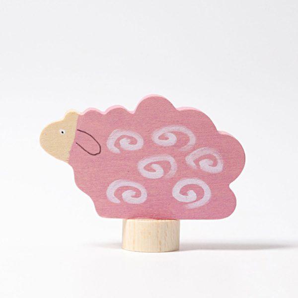 Steckfigur liegendes Schaf von Grimm's