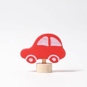 Steckfigur rotes Auto von Grimm's