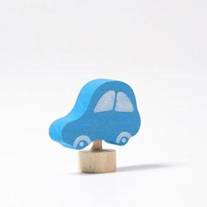 Steckfigur blaues Auto von Grimm's