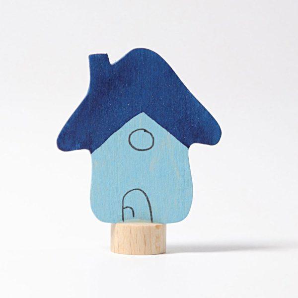 Steckfigur blaues Haus von Grimm's