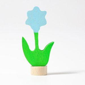 Steckfigur blaue Blume von Grimm's