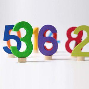 Zahlenstecker 0 bis 9 von Grimm's