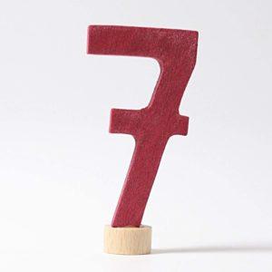 Zahlenstecker 7 von Grimm's