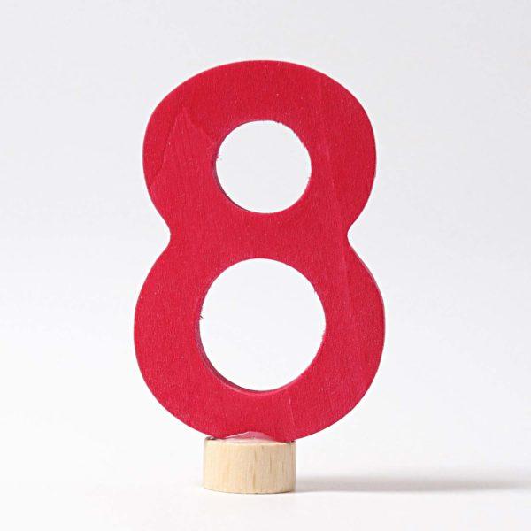 Zahlenstecker 8 von Grimm's
