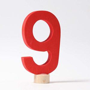 Zahlenstecker 9 von Grimm's