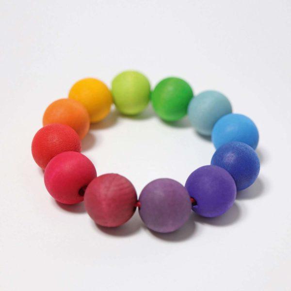 Greifling Perlenring Regenbogen von Grimm's