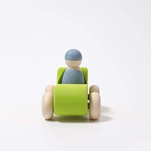Kleines Cabrio grün von Grimm's