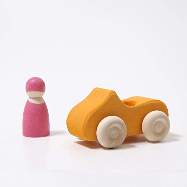 Kleines Cabrio gelb von Grimm's