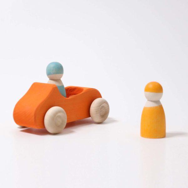 Großes Cabrio orange von Grimm's