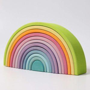 Großer Regenbogen pastell von Grimm's
