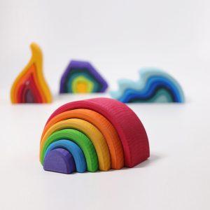 Regenbogen bunt von Grimm's