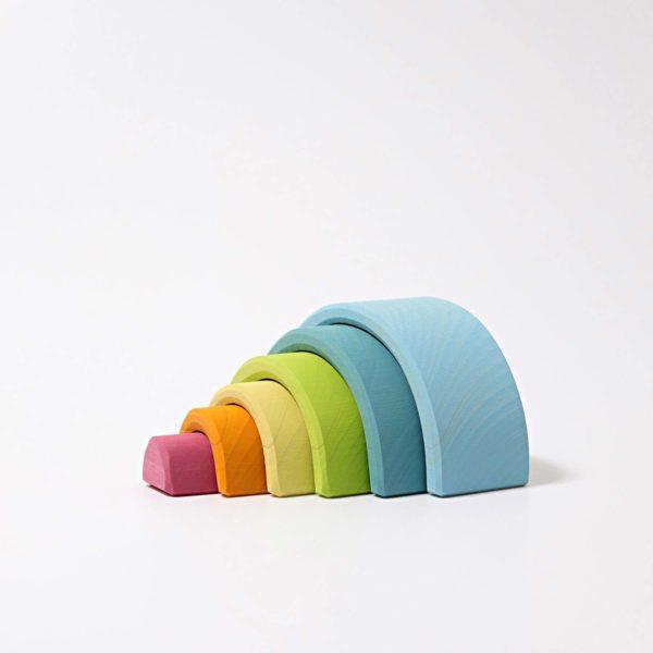 Kleiner Regenbogen pastell von Grimm's