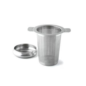 Teefilter mit Abtropfschale