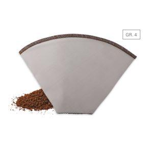 Kaffeedauerfilter – Edelstahl Gr. 4