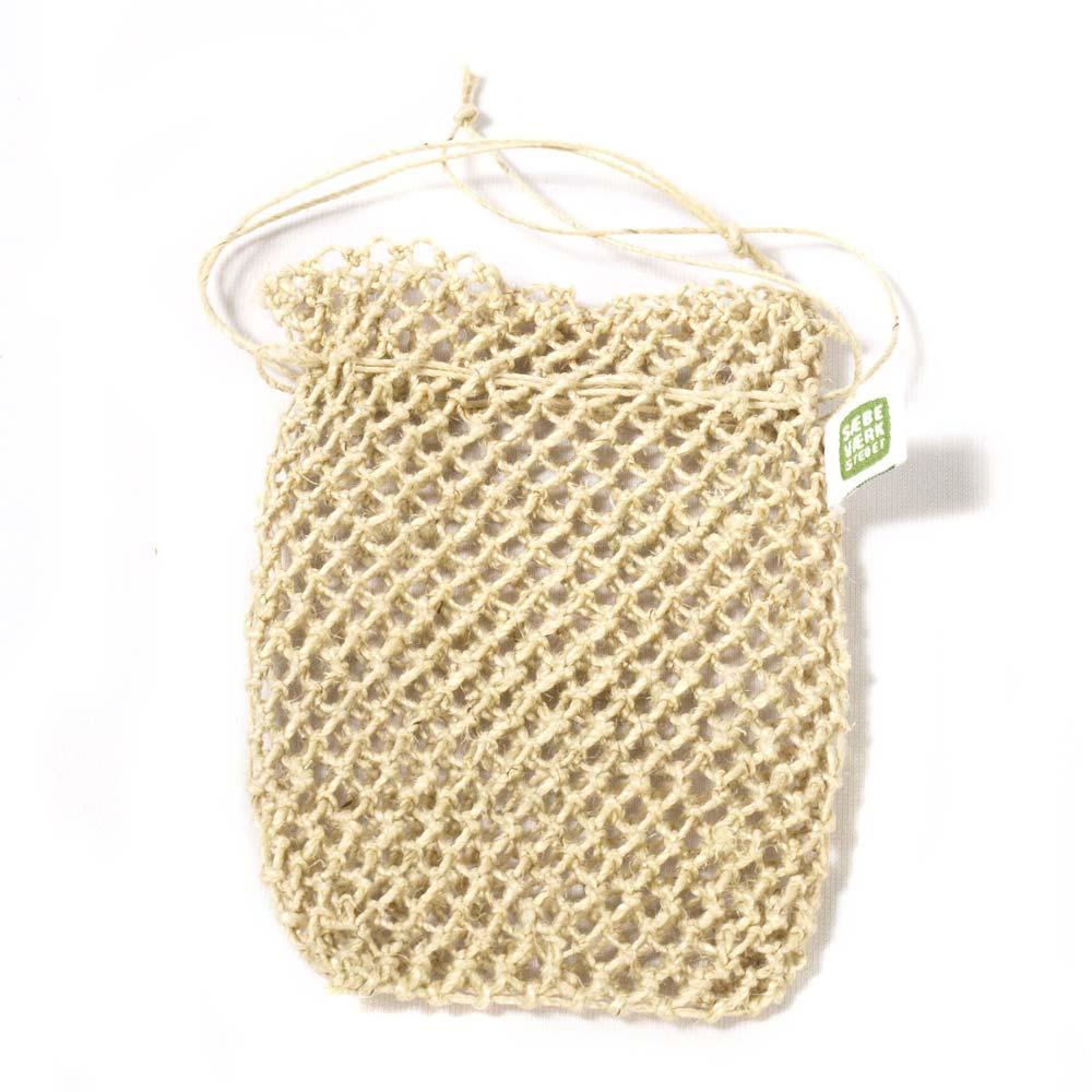 Seifensäckchen aus Hanf von Saebevaerkstedet