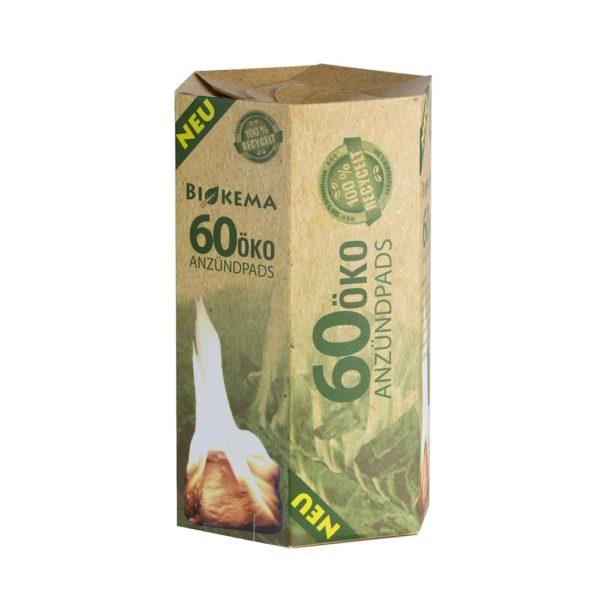 Öko-Anzündpads – 60 Stück