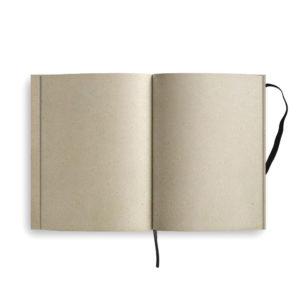 Notizblock Graspapier – offen