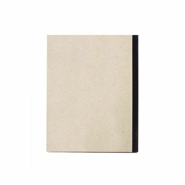 Notizblock Graspapier – Rückseite