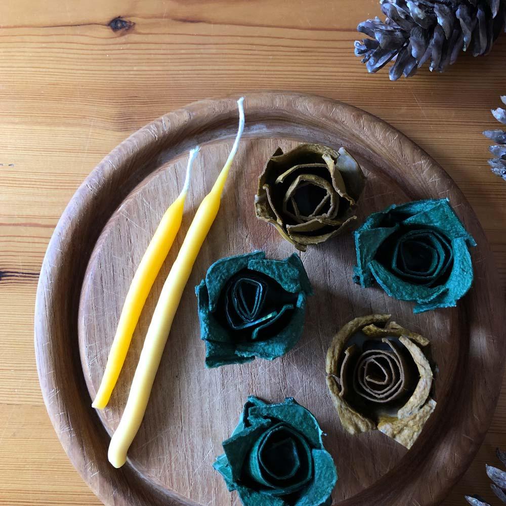 Kerzen selbst ziehen und gießen – Wir recyceln Kerzenreste und stellen natürliche Anzünder her 9