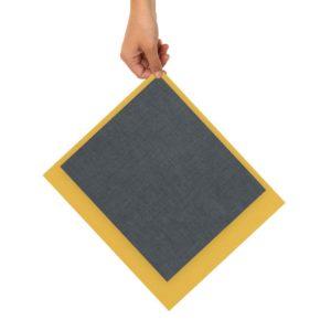 Bienenwachstücher blau/gelb – 2er Set Gr. M, L