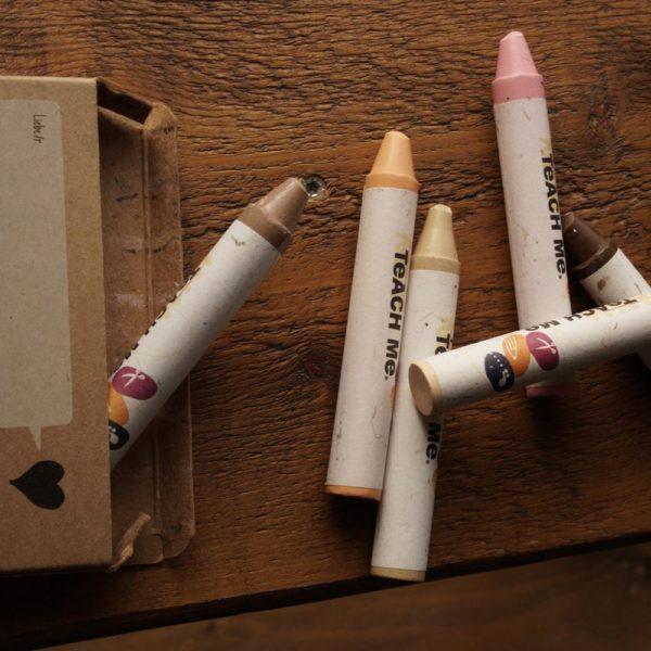 Wachsmaler Hautfarben – 8 Farben