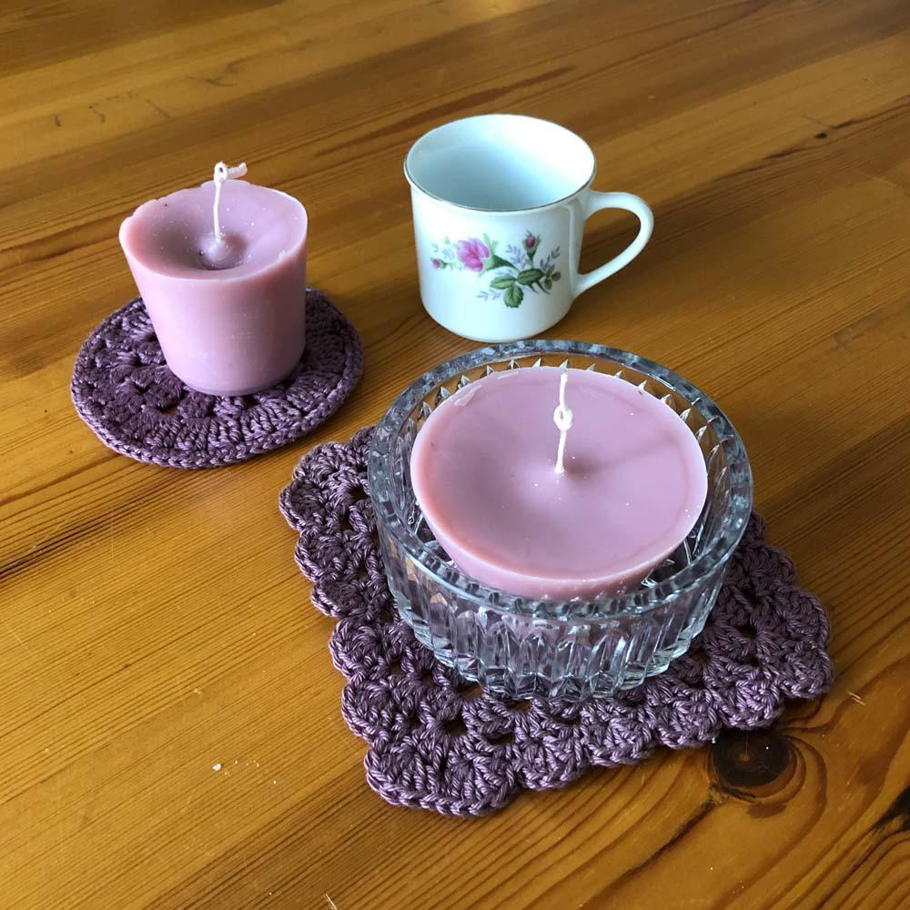 Kerzen selbst ziehen und gießen – Wir recyceln Kerzenreste und stellen natürliche Anzünder her 3