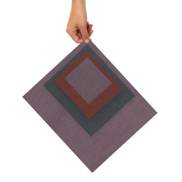 Bienenwachstücher lila/blau/rot 4er Set – XS, S, M, L