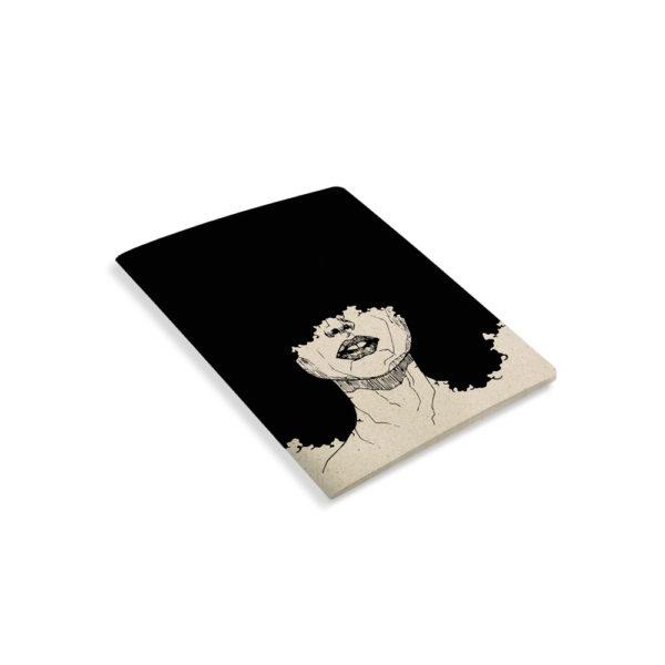 Notizbuch Tara Curly – blanko – Matabooks