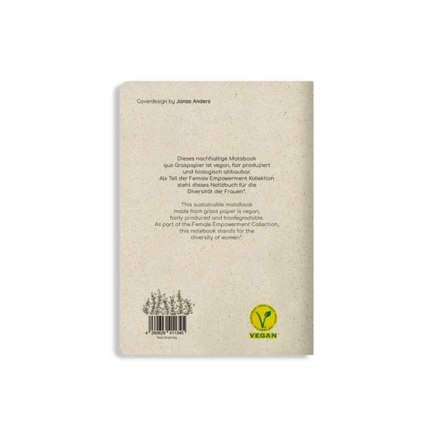 Notizbuch Tara Diversity – Rückseite