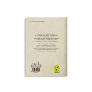 Notizbuch Tara Boobs – Rückseite