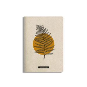 Notizbuch Tara Orange – blanko